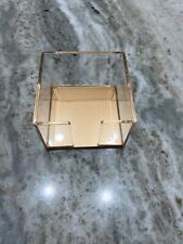 Real Space Clear And Bronze Memo Holder