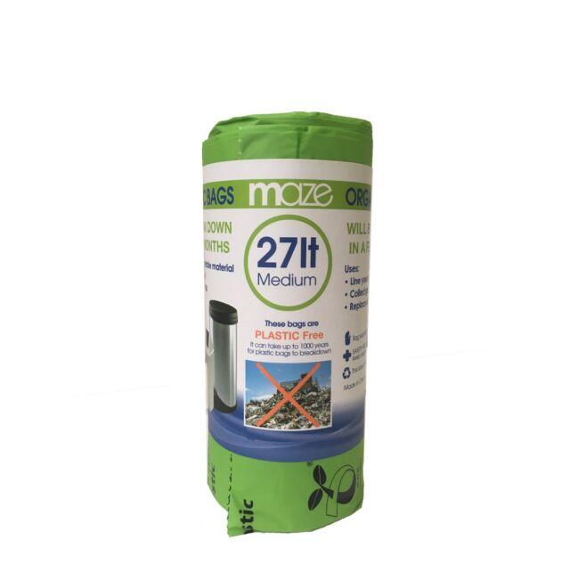 Maze 27L Organic Rubbish Bags - 20 Pack