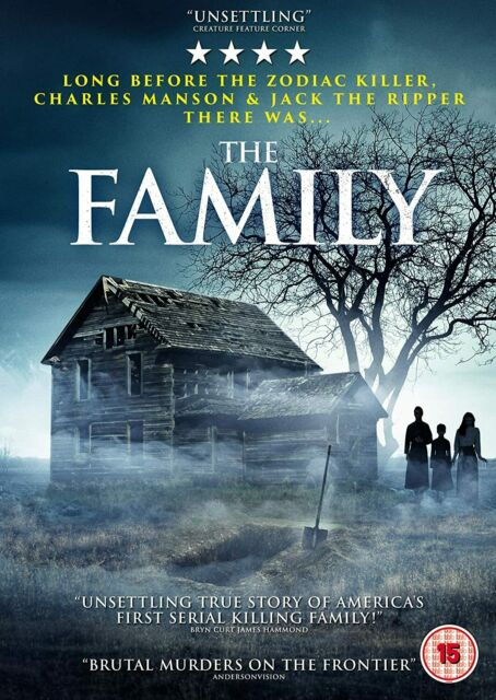 THE FAMILY - DVD **NEW SEALED** FREE POST**