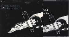COFFRET 2 CD PUNK CRAZY ANARCHY IN THE UK THE STRANGLERS/DAMNED/SEX PISTOLS....
