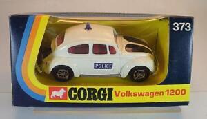 Corgi-Toys-373-Volkswagen-Kaefer-VW-1200-Saloon-Police-in-O-Box-6014