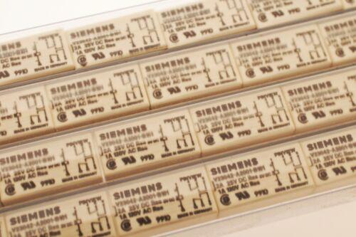 SIEMENS V23042-A2001-B201 Print Relais 8-pin 5VDC Relay 2xUM #713117