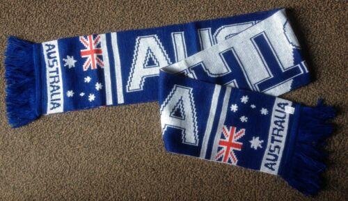 Écharpe hiver fan tricot Australie drapeau drapeau scarf 140cm