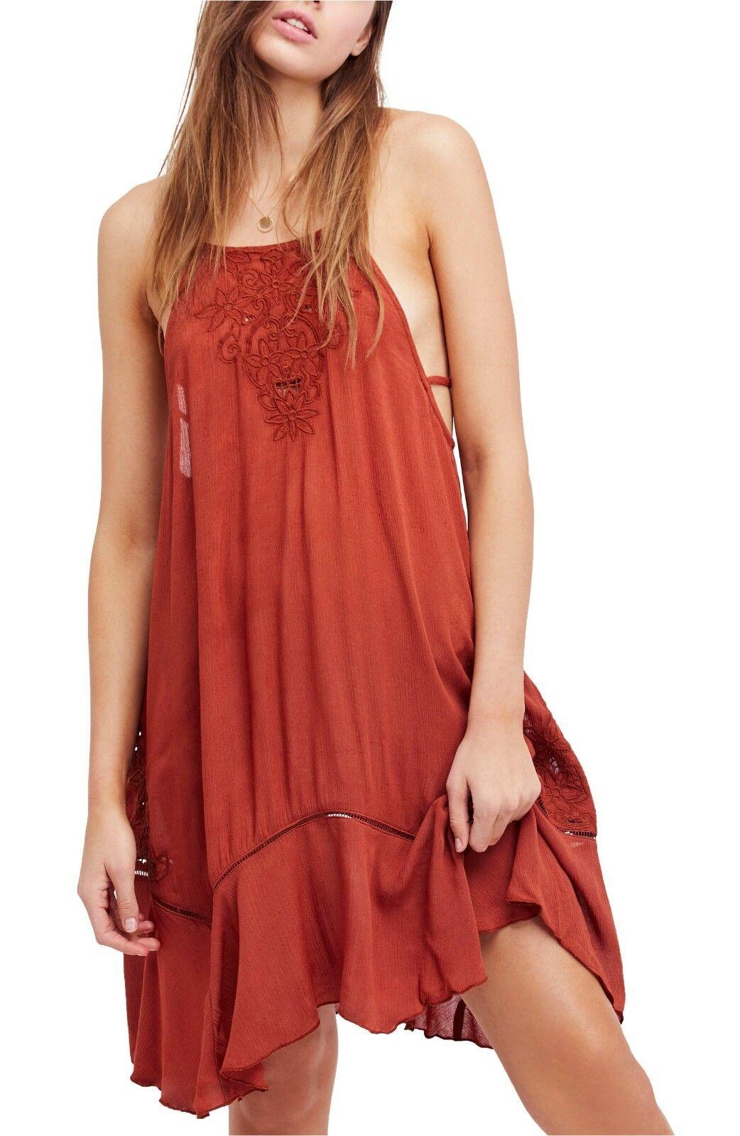 NWT Free People Heat Wave Tunic Dress Retail
