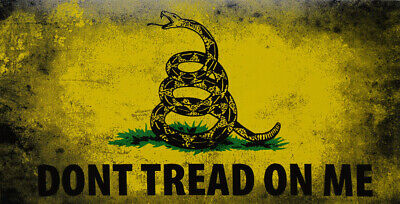 Wholesale Lot of 6 Maryland Gadsden Dont Tread On Me Decal Bumper Sticker