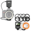 miniatura 1 - Meike FC-100 FC100 Manual LED Macro Ring Flash Light with 7 Adapter Ring for Can