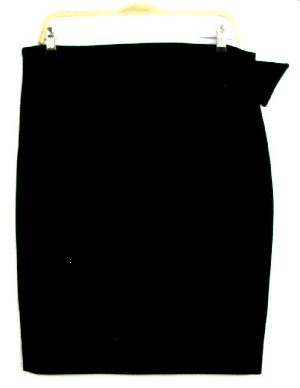 PETROVITCH & ROBINSON - JUPE FÉMININE LAINE black size 44 - EXCELLENT ETAT
