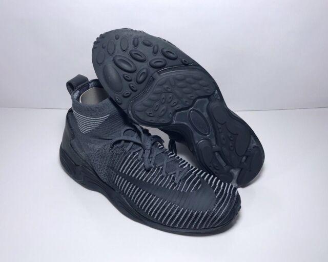 4cd2dfb1ed7d7 Nike Zoom Mercurial XI 11 FK Flyknit 844626-002 Dark Grey Anthracite ...