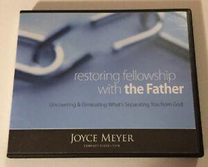 Details about Joyce Meyer Restoring Fellowship with Father God 4 Cd Set  Christian Sermons