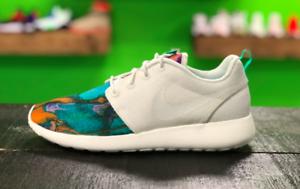 Details about SALE Nike Roshe One Print Tye Dye Mens AR1950 100 Sail Menta Running Shoes