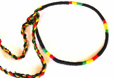 BRACELET RASTA REGGAE BOB MARLEY COTTON JAMAICA MEN WOMEN FRIENDSHIP