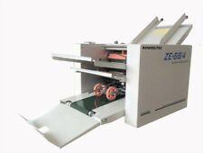 310700 Mm Paper 4 Folding Plates Auto Folding Machine Ze 8b4