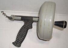 Ridgid Kollmann Kitchenbathroom K Spin Drain Cleaner 25ft Cable Hand Tool