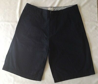 Gap Men's Navy Shorts Relaxed Chinos 100% Cotton-Size 34.                 #1417