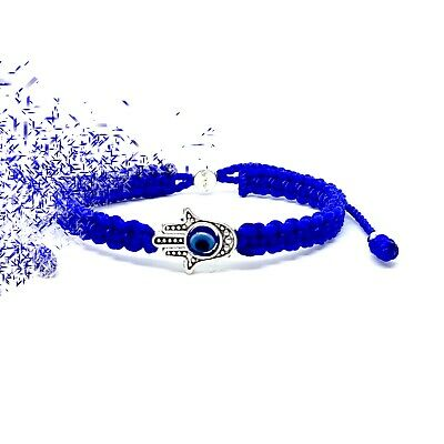 trendy bracelet evil eyed bracelet tassel protection bracelet Mano de Fatima Hamsa and evil eyed Miyuki bracelet