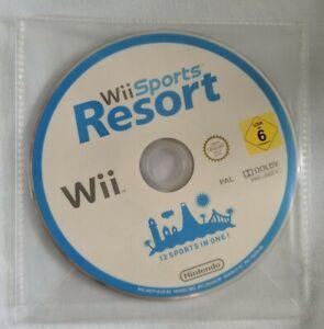Wii-Sports-Resort-pour-Nintendo-Wii-Disque-Seulement-teste-et-de-travail