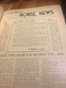 The-Mercury-House-News-Number-1-December-1936-to-Number-14-March-1938