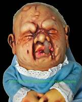 Baby Stinky Puppet Creepy Realistic Mutant Doll Halloween Prop Costume Accessory