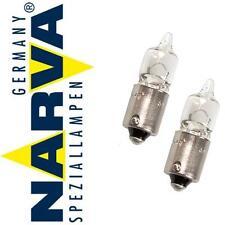 2x NARVA 20W BA9S Standlicht Ringe Angel Eyes Marker BMW 5 E60 E61 X5 E53