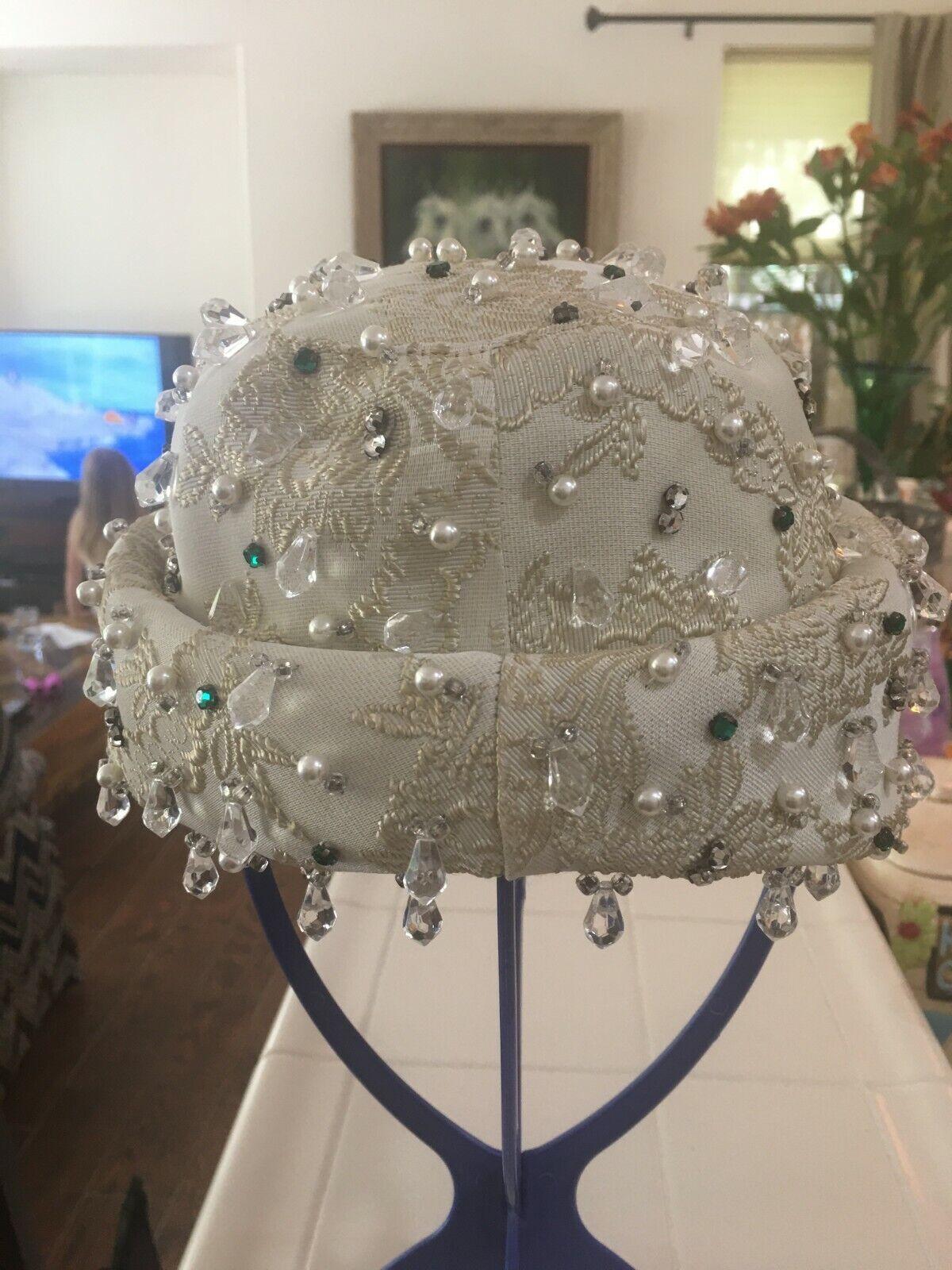 Vintage Christian Dior dress hat - image 1
