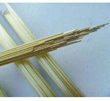 100pcs Brass Electrode Tubes For Edm Drilling Machine Diameter 05mm E7 C Gy