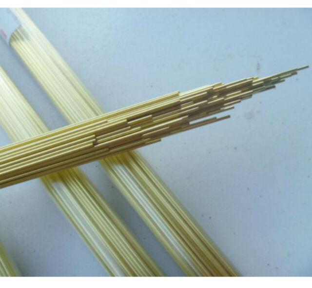 100pcs Brass Electrode Tubes for EDM Drilling Machine Diameter 1mm ...