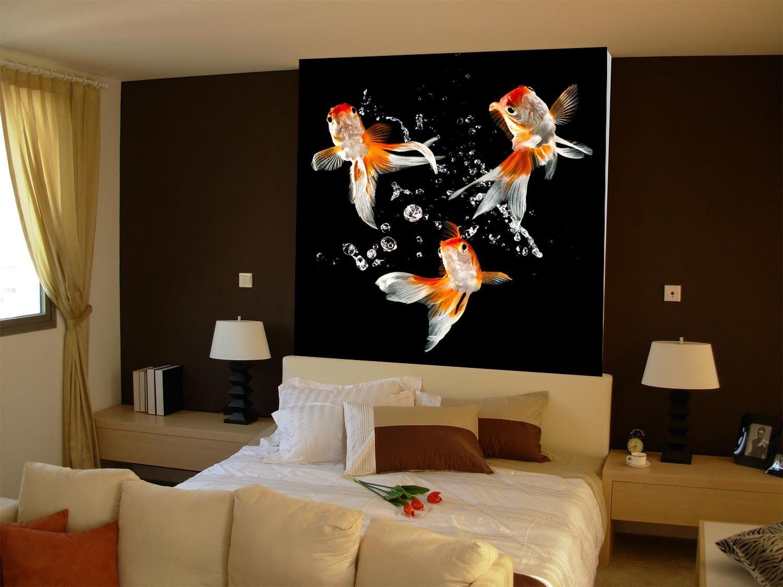 3D goldfische 648687 Fototapeten Wandbild Fototapete BildTapete Familie DE
