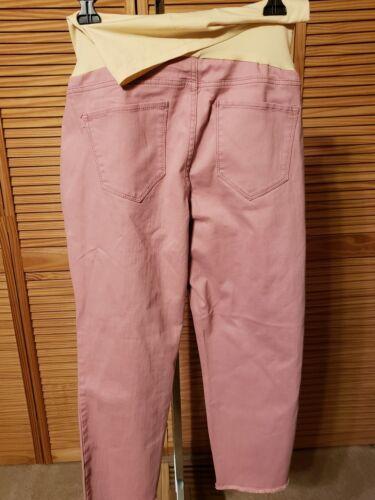 Skinny Flutter maternità Pantaloni Foxglove Nwt Panel Re Kick di 54 Ankle Full wIAnBq