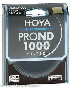 Hoya 52mm Pro ND 1000 10 stop Filter for SLR, Nikon, Canon etc