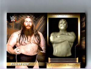 WWE-Killian-Dain-2018-Topps-RTWM-Andre-The-Giant-Battle-Royal-Relic-Card-83-99