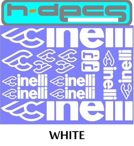 stickers, cycling, mtb, bmx, road, bike Cinelli T1 Die-cut decal sheet.