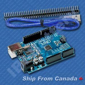 UNO-R3-Arduino-compatible-ATMEGA328-CH340G-USB-USB-Cable-SHIP-From-Canada