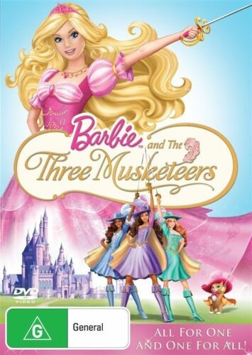 1 of 1 - Barbie And The Three Musketeers (DVD, 2009)**R4**Terrific Condition