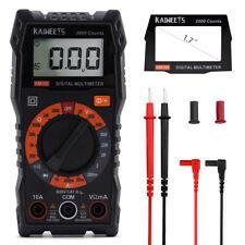 Dc Current Digital Multimeter 2000 Counts Volt Diode Voltage Tester Kaiweets