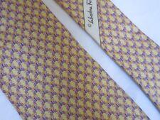 NEW condition vintage Salvatore Ferragamo Made in Italy neck tie 100% silk