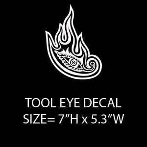 TOOL Logo Decal Sticker Free Shipping BOGO