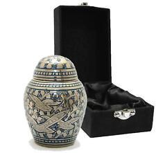 Doves in Flight (Dome lid) Keepsake Cremation Urn inc velvet box