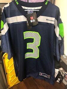 NWT WILSON 3 Seattle Seahawks Jersey