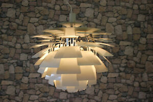 louis poulsen ph artichoke poul henningsen zapfen lampe 60 danish 60er ebay. Black Bedroom Furniture Sets. Home Design Ideas