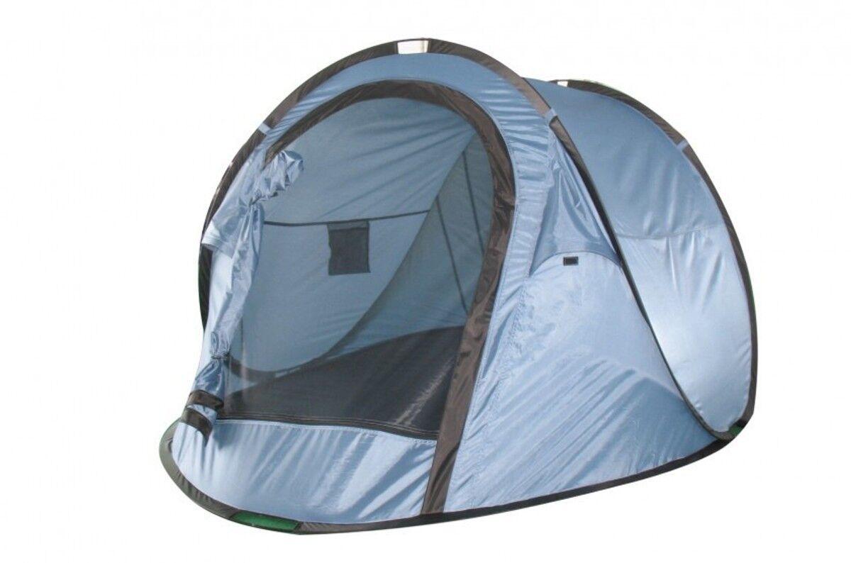 Zelt Zweipersonen Zelt Camping-Wurfzelt für 2 Pers. blau