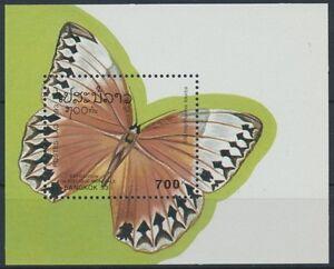 Laos-Block-146-postfrisch-Schmetterlinge