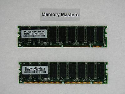 MEM-512M-AS54 512MB 2x256MB SDRAM Memory Kit for Cisco AS5400