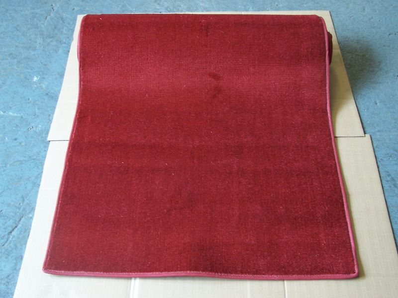 LIMOUSINE WEDDING 'rouge CARPET' SIDEWALK RUNNER 34  wide x 108  long