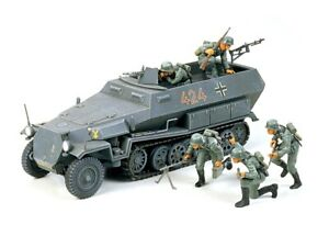 35020-Tamiya-Hanomag-Sd-Kfz-251-1-1-35th-Plastic-Kit-1-35-Military