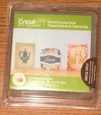 Cricut Cartridge - CREATIVE EVERYDAY CARDS - Brand New - Sealed
