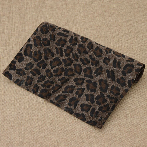 Printed Leopard Grain Fur Fabric DIY Shoes Hats Sewing Crafts Multicolor Fabrics