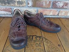 Mens J & M Sheepskin Leather  Shoes Brown Casual Dress Shoes size 9.5 M