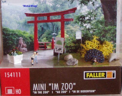 FALLER 154111 H0 Faller Mini »im Zoo«            #70348