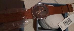 Details zu NEU & OVP Skagen Herren Armbanduhr Chronograph braun SKW6085