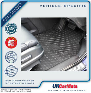 Genuine Hitech Ford Transit Courier Tailored VS Rubber Car Mats 2014 onwards